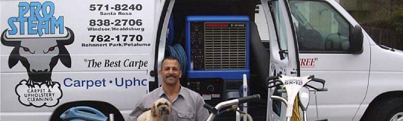 pro steam equipment van